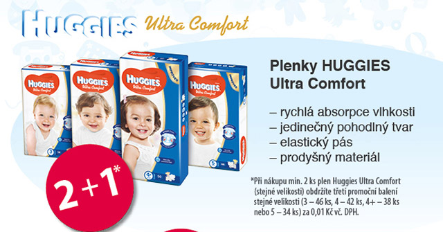 plenky HUGGIES Ultra Comfort
