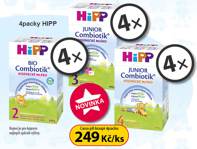 4packy HIPP Combiotik