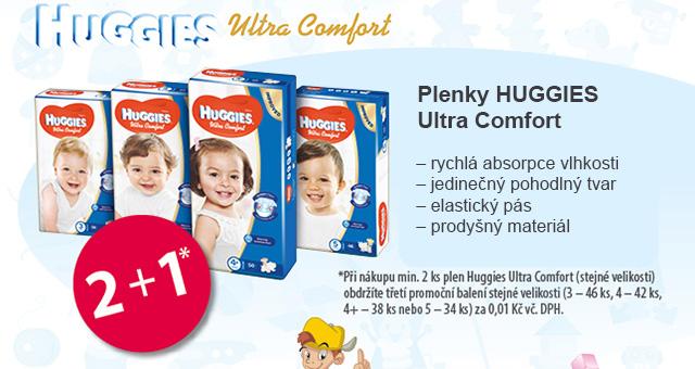 plenky HUGGIES Ultra Comfort