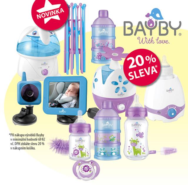 Produkty pro miminka značky BAYBY