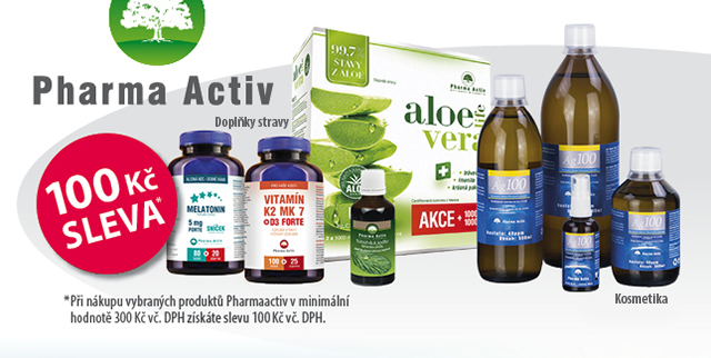 Pharma Activ s 100 Kč slevou