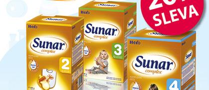 SUNAR COMPLEX 2, 3, 4 a 5, 600g