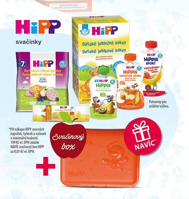 HIPP svačinky