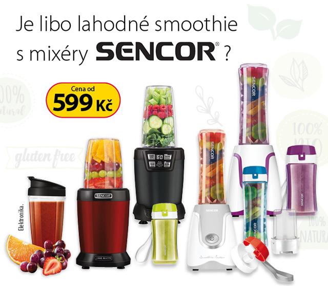 Sencor nutri a smoothie mixéry (+logo)