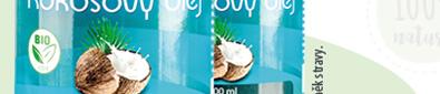 Allnature Kokosový olej panenský BIO 500ml 1+1