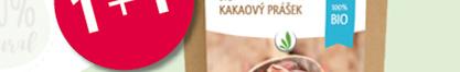 Allnature Kakaový prášek BIO RAW 200g 1+1