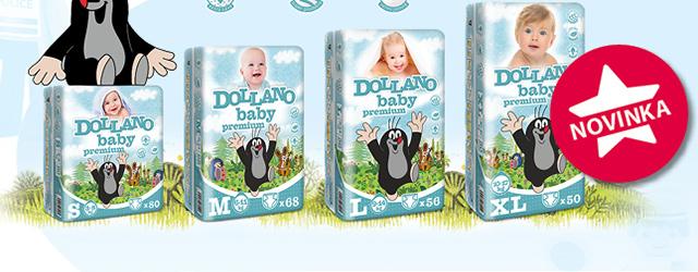 Dětské pleny Dollano Baby