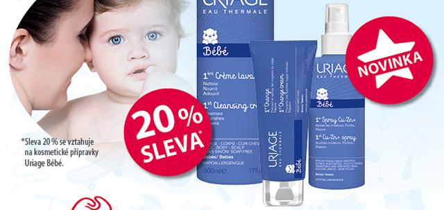 Uriage Bébé 20 % SLEVA* NOVINKA