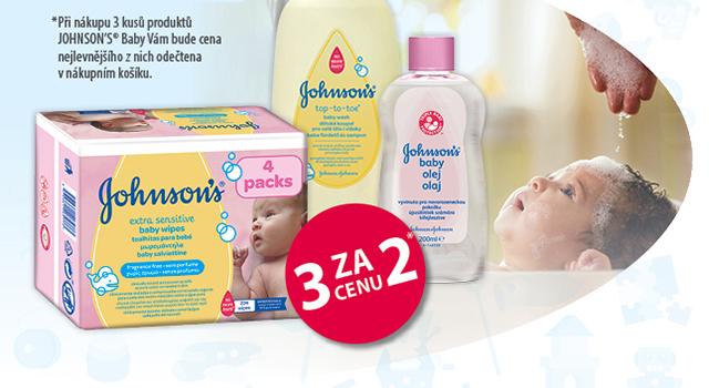 Johnson's® baby 3 za cenu 2*