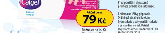 Calgel orm.gel.1x10g 20 % SLEVA