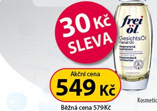 Frei Öl Olej na obličej 30 ml 30 Kč SLEVA