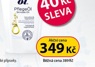 Frei Öl Pečující olej 125 ml 40 Kč SLEVA