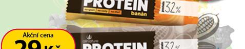 Allnature Proteinové tyčinky 32% - 35g sleva 10 Kč.