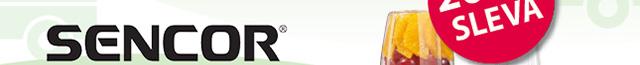Nutri, smoothie mixéry Sencor sleva 200 Kč.