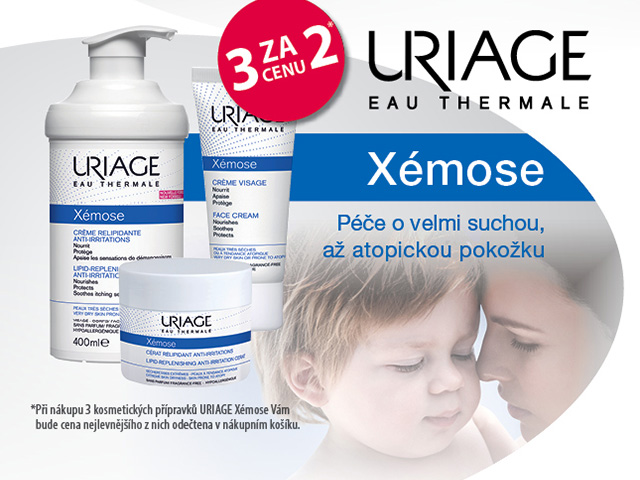 URIAGE XEMOSE 3 za cenu 2*