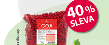 Allnature Goji sušené plody 40% SLEVA