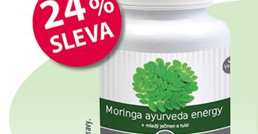 Moriga ayurveda 24% SLEVA