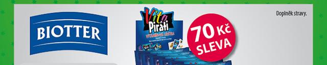Biotter VitaPiráti 70 Kč SLEVA
