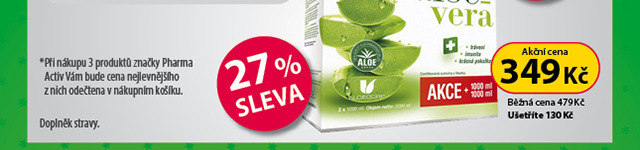 AloeVeraLife 3za2, 27% SLEVA