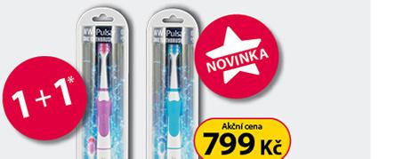 Biotter WW - Pulsar sonický zubní kartáček 1+1*