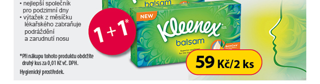 Kleenex 1+1*