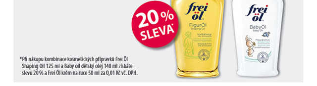 Frei Ol 20% SLEVA