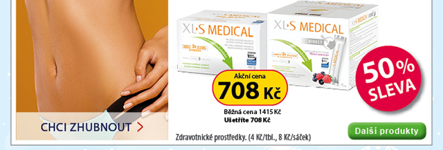 XL-S Medical 180tbl, XL-S Medical Direct 90 sáčků 50 % SLEVA